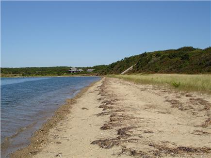 Chappaquiddick, Edgartown Martha's Vineyard vacation rental - View of private beach-great for long walks and summer sunsets