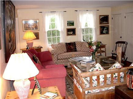 Chappaquiddick, Edgartown Martha's Vineyard vacation rental - Comfortable living room great for relaxing after a day in the sun