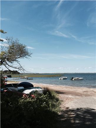 Edgartown Martha's Vineyard vacation rental - Sengekontacket Pond & Town Landing just a few houses away