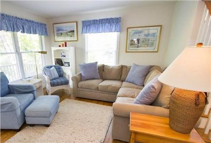 Edgartown Martha's Vineyard vacation rental - Additional sitting area that opens up to the Covered Porch