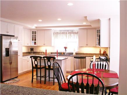 Edgartown Martha's Vineyard vacation rental - Open Kitchen with eat in Dining