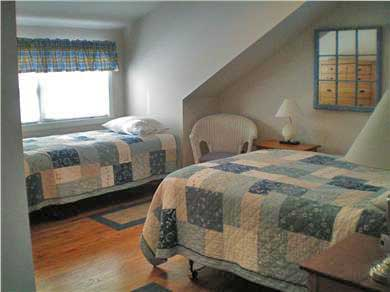 Edgartown Martha's Vineyard vacation rental - 2nd Bedroom with full & twin bed