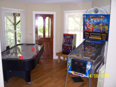 West Tisbury, Upper Makonikey Martha's Vineyard vacation rental - Game Room with pinball, air hockey and slots