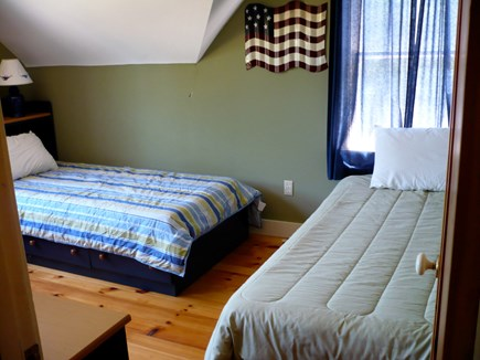 West Tisbury, Upper Makonikey Martha's Vineyard vacation rental - Bedroom 3 with two twin beds