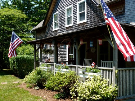 West Tisbury, Upper Makonikey Martha's Vineyard vacation rental - 4th of July, a great time to visit the Vineyard