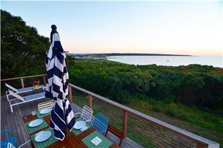Chilmark, Menemsha Martha's Vineyard vacation rental - House has panoramic views of Menemsha & Vineyard Sound.