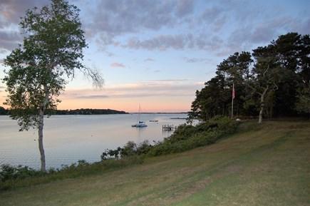 Oak Bluffs Martha's Vineyard vacation rental - Yard overlooking the water