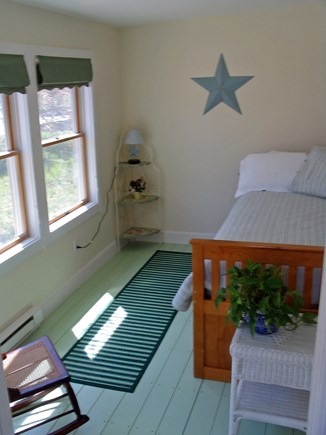 Vineyard Haven Martha's Vineyard vacation rental - Summer Porch Bedroom 4