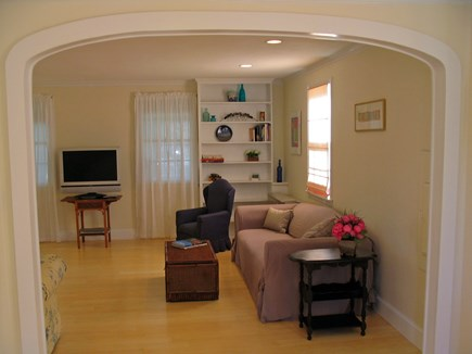 Vineyard Haven Martha's Vineyard vacation rental - Living Room From Study