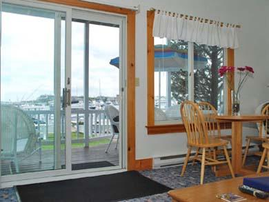 Oak Bluffs Martha's Vineyard vacation rental - Sliders from deck access open living and dining area