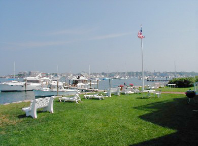Oak Bluffs Martha's Vineyard vacation rental - Spacious yard with lounge chairs and benches