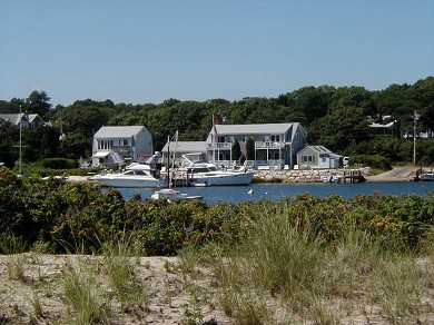 Oak Bluffs Martha's Vineyard vacation rental - Condo viewed from the Beach