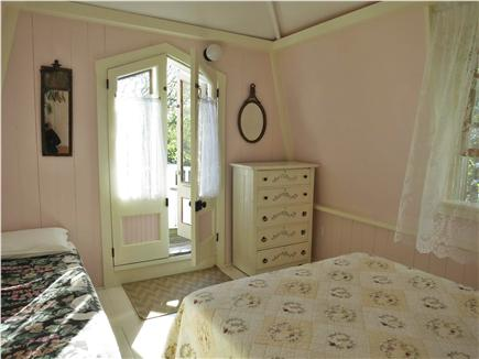 Oak Bluffs, Historic Copeland District Martha's Vineyard vacation rental - Front Bedroom with Balcony Overlooking the Park