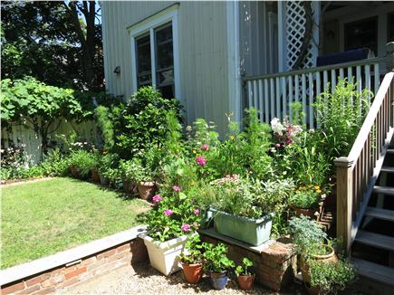 Oak Bluffs, Historic Copeland District Martha's Vineyard vacation rental - Private Backyard with Deck & Gas Grill