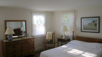 Vineyard Haven Martha's Vineyard vacation rental - Queen bed in the master with water views