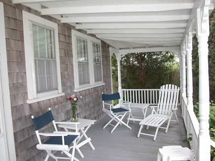 Vineyard Haven Martha's Vineyard vacation rental - Another view of the porch