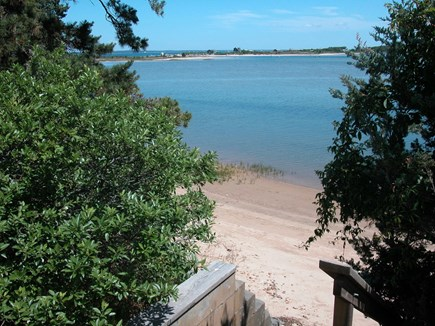 Vineyard Haven Martha's Vineyard vacation rental - Steps to your beach