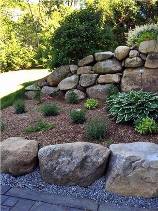 Vineyard Haven Martha's Vineyard vacation rental - Rock flower garden