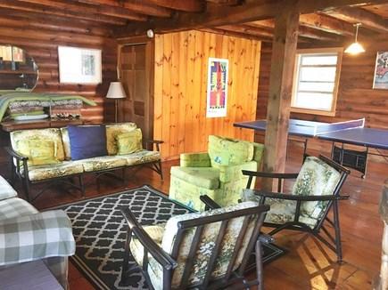 Chappaquiddick, Edgartown Martha's Vineyard vacation rental - Recreation Room in second building