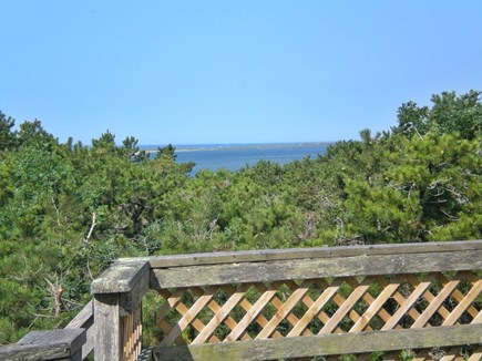 Chappaquiddick, Edgartown Martha's Vineyard vacation rental - View from the deck
