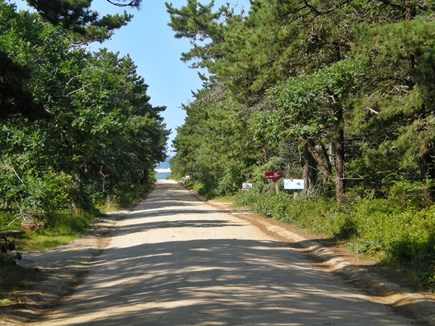 Chappaquiddick, Edgartown Martha's Vineyard vacation rental - Turn right as you walk out the front yard and walk to Katama Bay