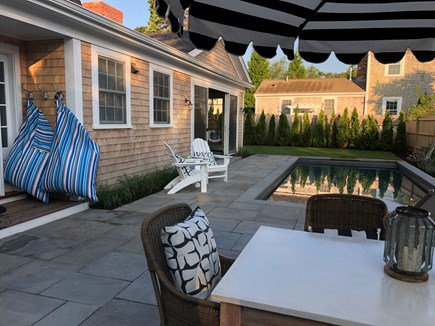 In Town Edgartown Martha's Vineyard vacation rental - Heated Pool/Patio