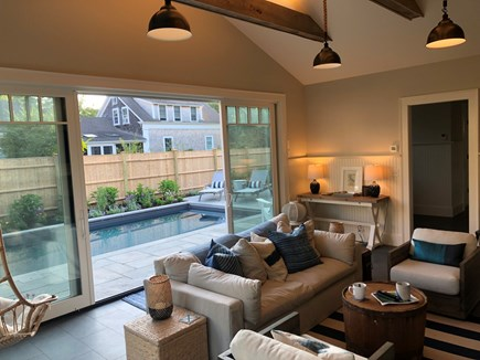 In Town Edgartown Martha's Vineyard vacation rental - Sun Room
