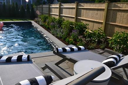 In Town Edgartown Martha's Vineyard vacation rental - Heated Pool/Patio