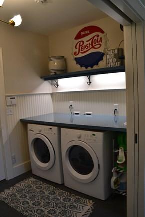 In Town Edgartown Martha's Vineyard vacation rental - Laundry room