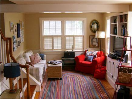 In Town Edgartown Martha's Vineyard vacation rental - Living Room