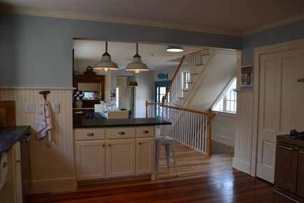 In Town Edgartown Martha's Vineyard vacation rental - Kitchen with Peninsula