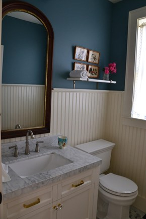 In Town Edgartown Martha's Vineyard vacation rental - 1st Floor Powder Room