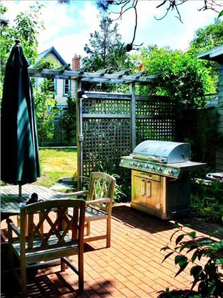 East Chop-Oak Bluffs Martha's Vineyard vacation rental - Brick Terrace with Dual Grills and Table