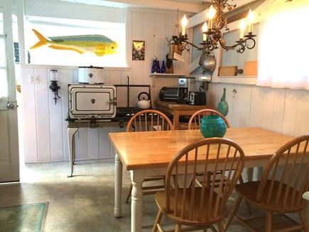 Oak Bluffs Martha's Vineyard vacation rental - Sunny kitchen with refurbished 1923 gas stove