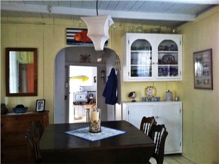 Oak Bluffs Martha's Vineyard vacation rental - Dining room table has multiple leaves and easily seats eight