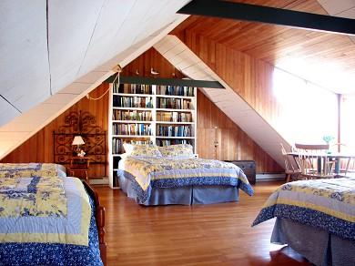 Edgartown Martha's Vineyard vacation rental - Second Floor Loft