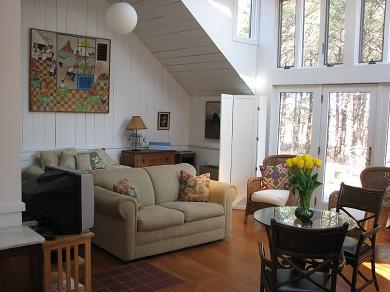 Edgartown Martha's Vineyard vacation rental - Studio living area