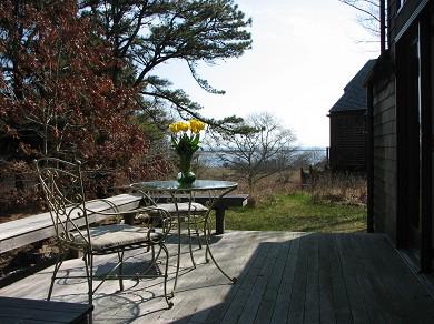 Edgartown Martha's Vineyard vacation rental - Studio Deck