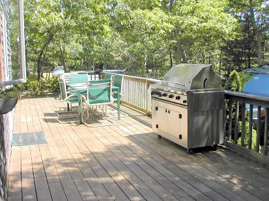 Edgartown Martha's Vineyard vacation rental - Wrap-around deck