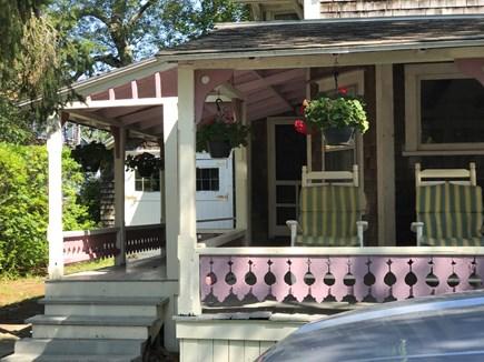 Oak Bluffs Martha's Vineyard vacation rental - View Historic Hartford Park from Villa Wraparound Porch