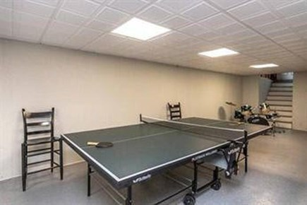 Edgartown Martha's Vineyard vacation rental - Newly renovated basement w/ ping pong table and 1/2 bath