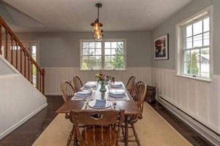 Edgartown Martha's Vineyard vacation rental - Spacious dining room comfortably seats 8.