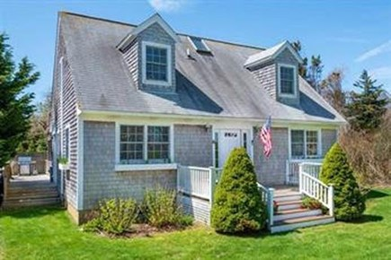 Edgartown Martha's Vineyard vacation rental - Front yard has lots of room for yard games & peaceful relaxation