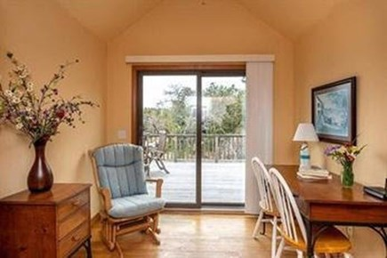 Edgartown Martha's Vineyard vacation rental - Second floor office with high speed internet.