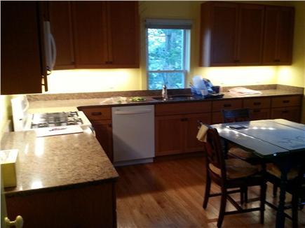 Oak Bluffs Martha's Vineyard vacation rental - Kitchen with under cabinet lighting