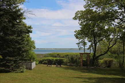 Edgartown Martha's Vineyard vacation rental - Lovely view of Sengy and Nantucket Sound