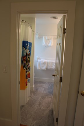 Edgartown Martha's Vineyard vacation rental - Second En Suite Queen bath: all new fixtures/tile