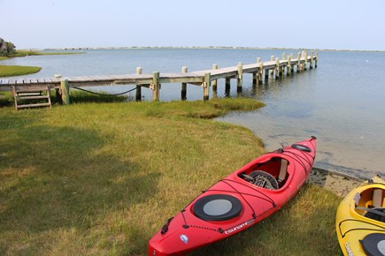 Edgartown Martha's Vineyard vacation rental - Full dock and mooring on the private island, with a great beach