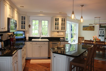 Edgartown Martha's Vineyard vacation rental - Gourmet Kitchen/granite counters/new appliances/5-burner range