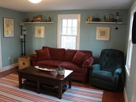 Edgartown Martha's Vineyard vacation rental - Den with pull-out double bed sofa, Smart TV and games